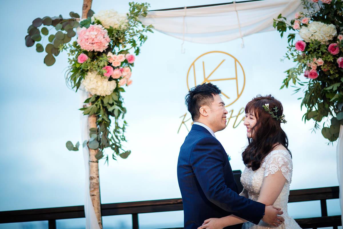 婚禮紀錄,婚攝推薦,淡水LaVilla,婚攝,戶外證婚