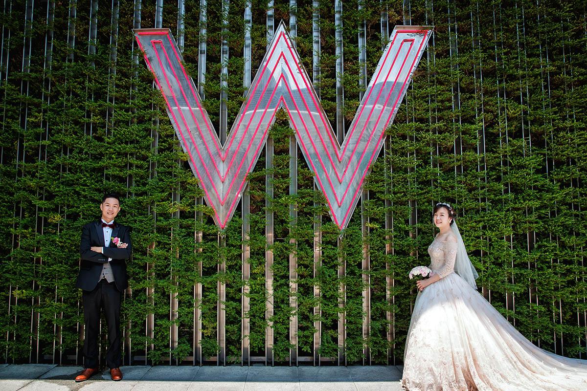 婚禮紀錄,婚攝推薦,W-Hotel,婚攝,戶外證婚